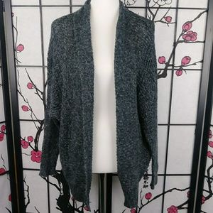 🌼 Hollister Soft Open Knit Cardigan Marled Knit